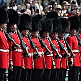 Members of the Irish Guards