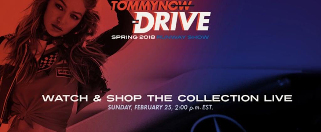 Tommy Hilfiger Milan Fashion Week Spring 2018 Live Stream