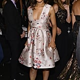 Kerry Washington wore a Stella McCartney dress at New York Fashion Week.