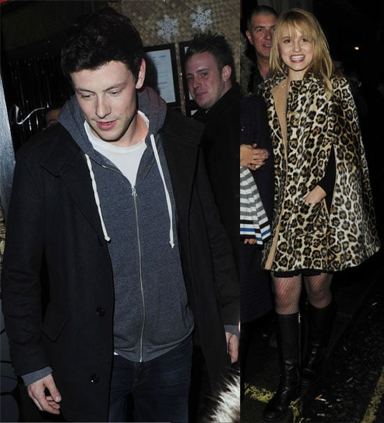 Pictures of Glee Cast at Mahiki