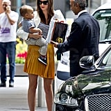 Miranda Kerr and Flynn Bloom enjoyed a Sydney afternoon.