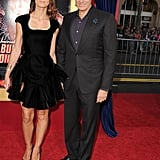 David Copperfield and Chloe Gosselin worked their magic on the red carpet.