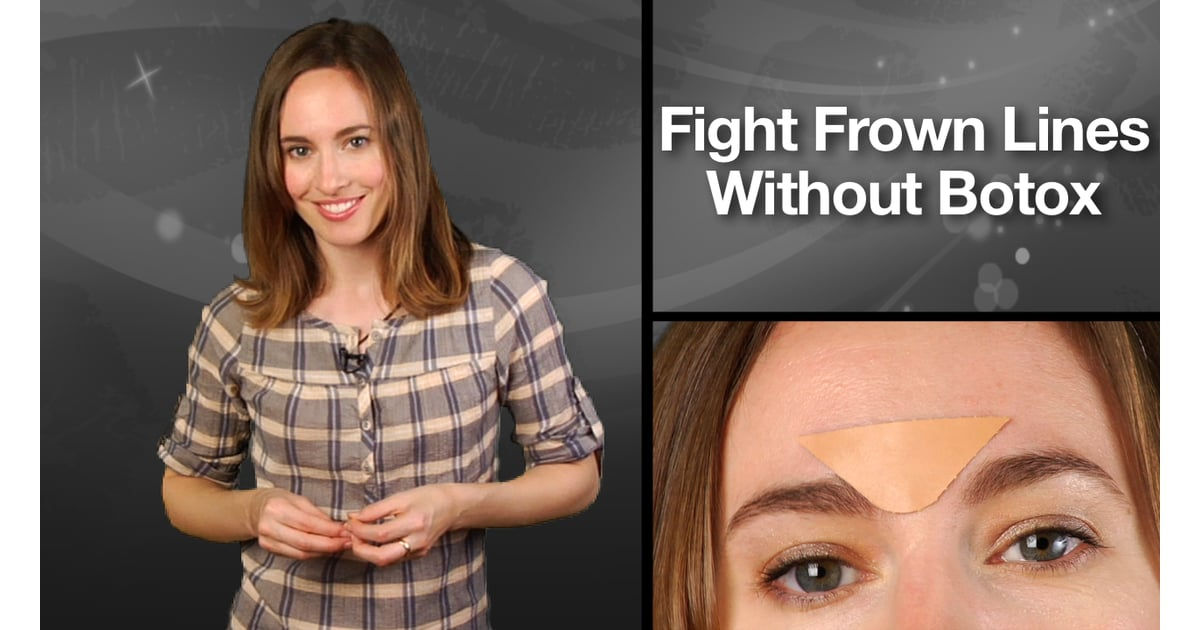 How to Get Rid of Frown Lines Without Botox | POPSUGAR Beauty