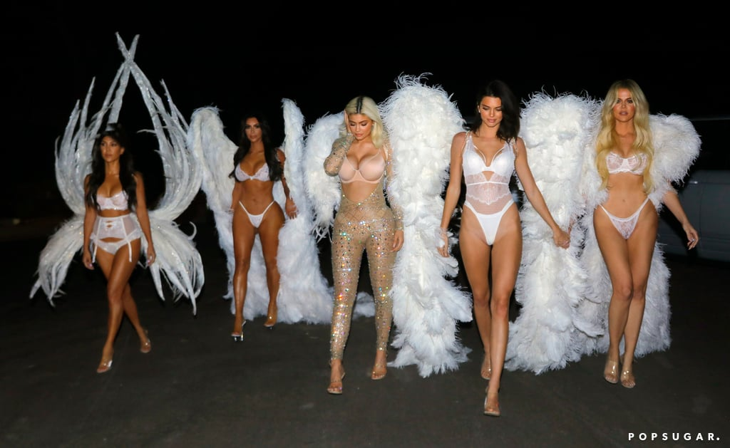 e3d0a6fcee5 The Kardashians Victoria's Secret Angels Halloween Costumes ...