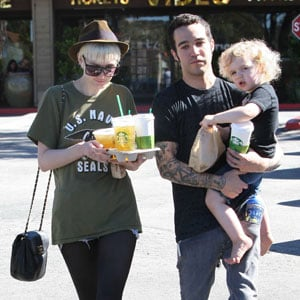 Pictures of Ashlee Simpson and Pete Wentz With Bronx