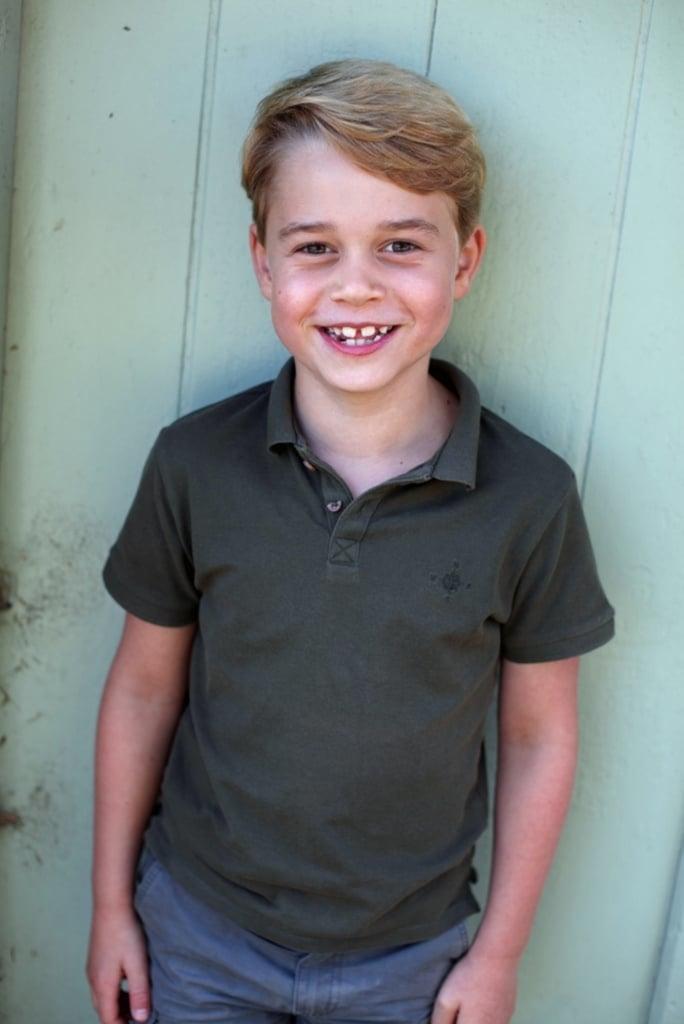 Prince George Wears Mango Shirt For 7th Birthday