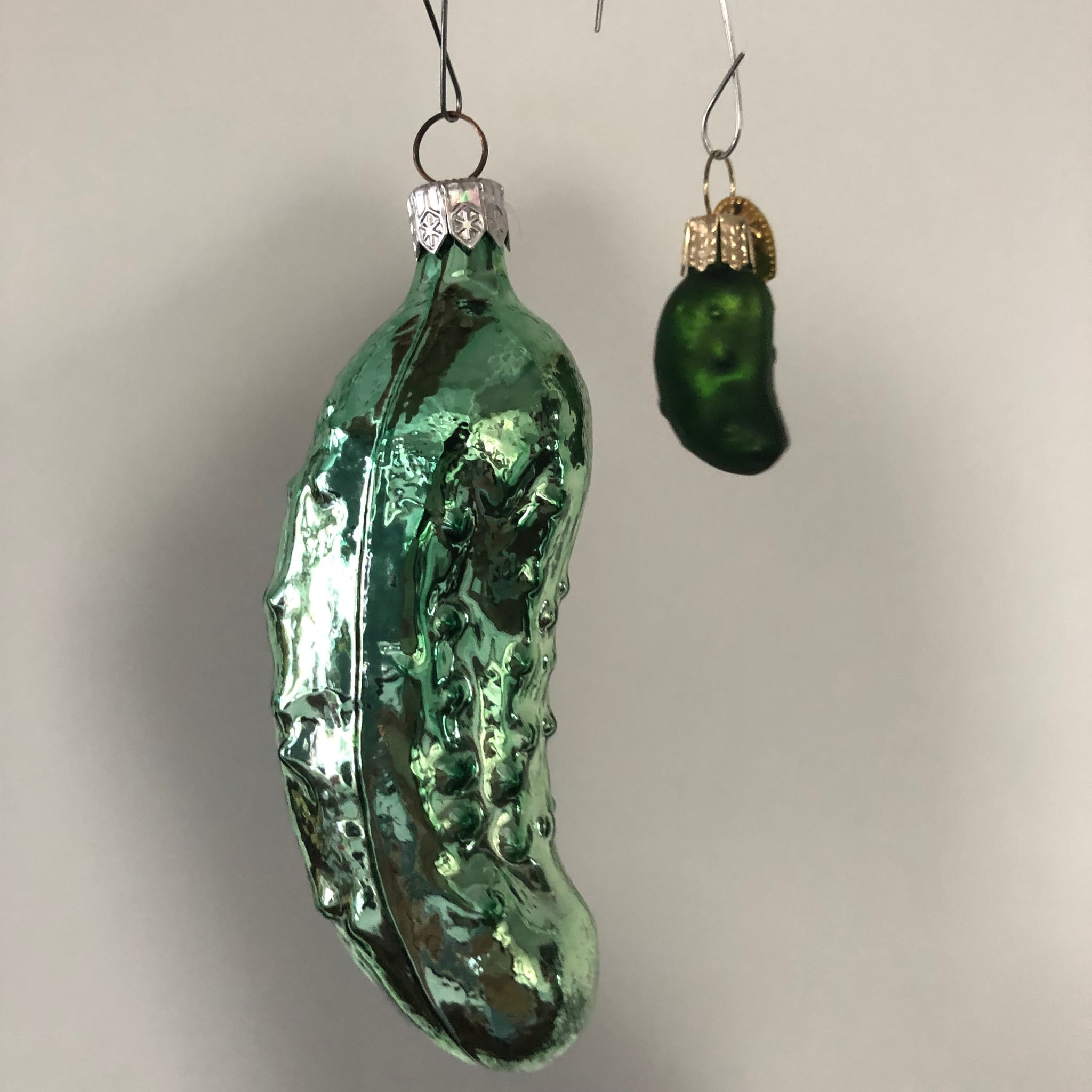 Hiding A Pickle In A Christmas Tree.Pickle Christmas Tree Ornament Tradition Popsugar Family