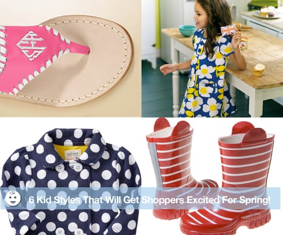 Spring Fashion Preview For Kids