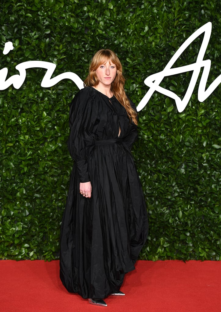 Molly Goddard at the British Fashion Awards 2019