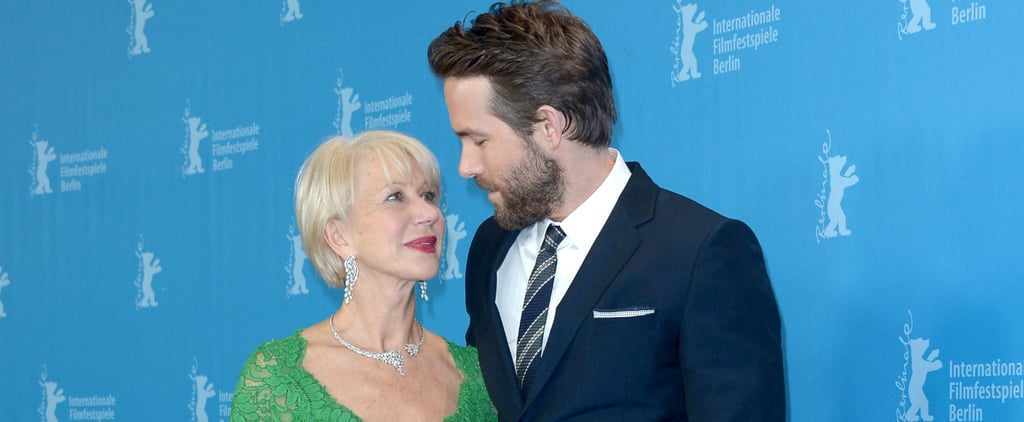 28 Celebrities Who Couldn't Resist the Flirtatious Charm of Helen Mirren