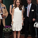 Natalie Portman Wears White For a Special Children's Charity Event