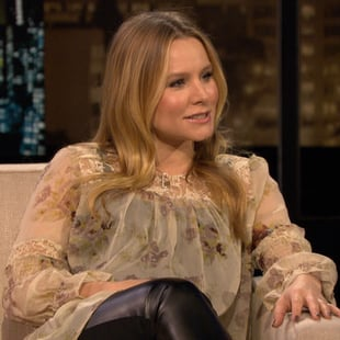 Kristen Bell on Pregnancy, Adoption Joke on Chelsea Handler