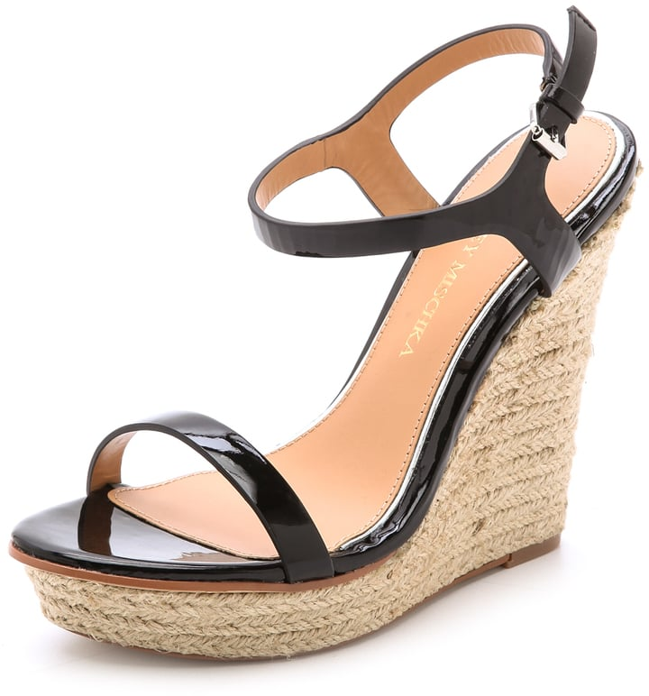 Badgley Mischka Espadrille Wedges