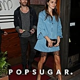 Paul Wesley and Phoebe Tonkin Out in LA April 2017