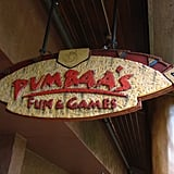 Play Arcade Games at Pumbaa's Fun and Games
