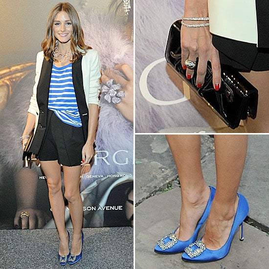 It S Model Home Monday And We Re Loving This Look At: Olivia Palermo Perfects The Friday Night Drinks Dress Code