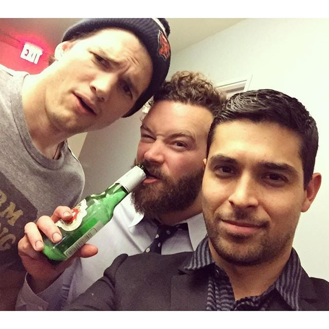 Ashton Kutcher and Wilmer Valderrama Reunite on Instagram ...