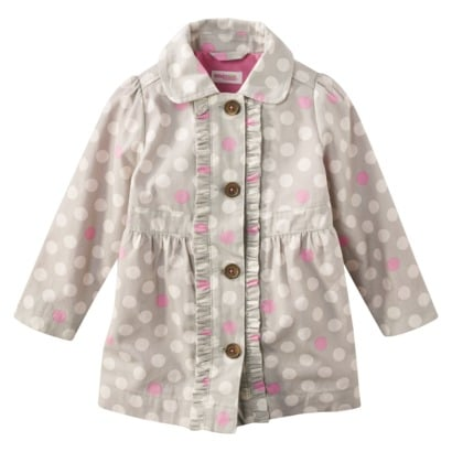 OshKosh B'Gosh Lightweight Trench Coat ($20)