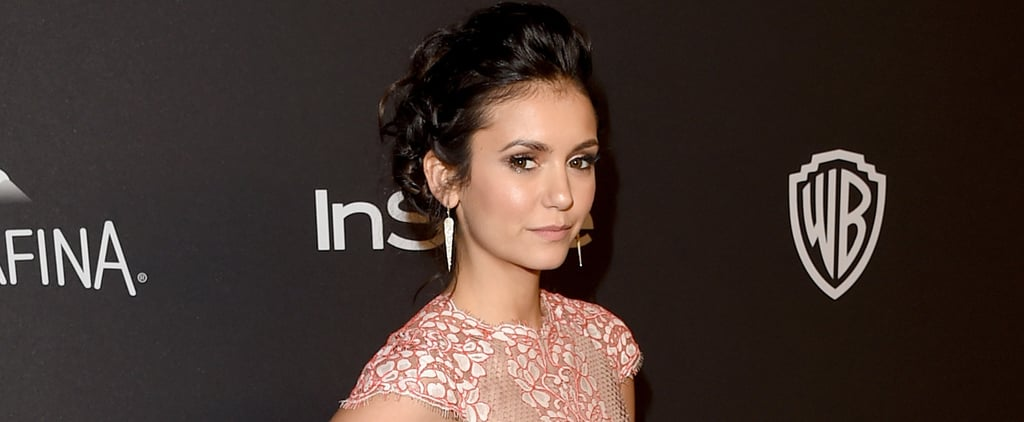 Former Couple Ian Somerhalder and Nina Dobrev Reunited at a Golden Globes Afterparty
