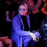 Yolanda Hadid Sat Front Row