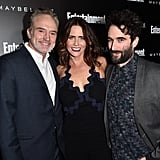 Pictured: Jay Duplass, Amy Landecker, and Bradley Whitford
