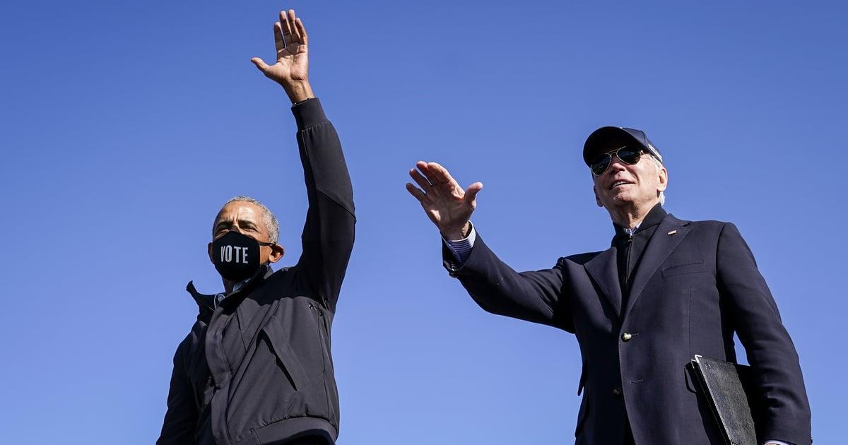 "Barack Obama Is Immensely Proud of Joe Biden and Kamala Harris's Win: ""Enjoy This Moment"""