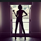 Who else could this sultry silhouette be but Karlie Kloss? Source: Instagram user karliekloss