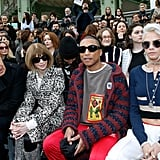Pharrell Williams and Cara Delevingne