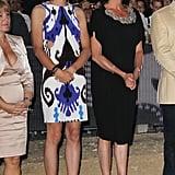 Elle Portait Déjà des Robes à Découpes en 2010