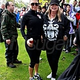 Josh Duhamel, Fergie, and Friends Run to Benefit Red Cross Japan Disaster Fund