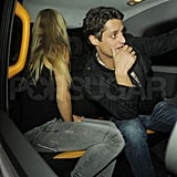 Chelsy Davy with a guy friend.