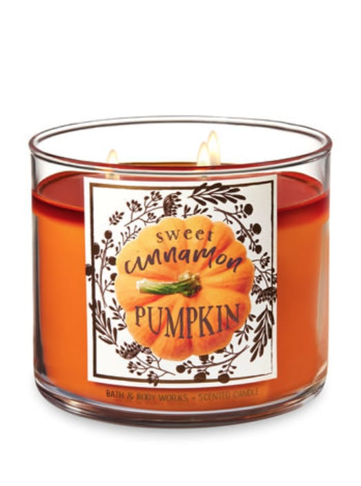 Sweet Cinnamon Pumpkin Three-Wick Candle