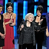Wendie Malick, Jane Leeves, Betty White, Valerie Bertinelli, and Busy Philipps