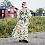 Street Style Trend: Puff-Sleeve Dress