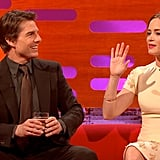 Emily Blunt Broke Tom Cruise's Spirit