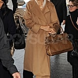 Katie Holmes Hits Milan Fashion Week With Her Mom
