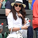 Meghan Kept Cool With a Fedora and Shades at Wimbledon