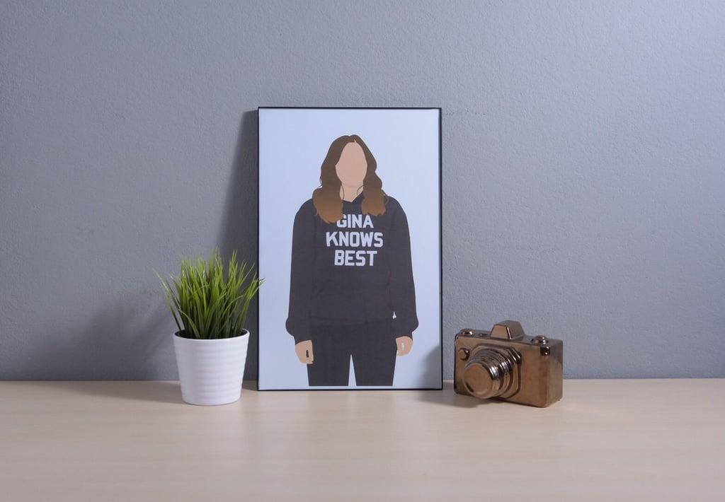 Gina Linetti Minimalist Poster