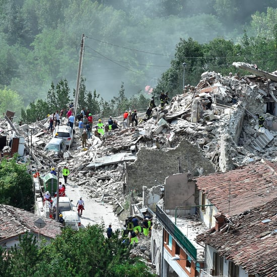 Italy Earthquake Photos 2016