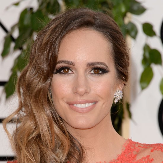 TV Presenter Louise Roe at 2014 Golden Globes