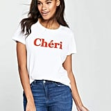 Very Cheri Slogan T-Shirt