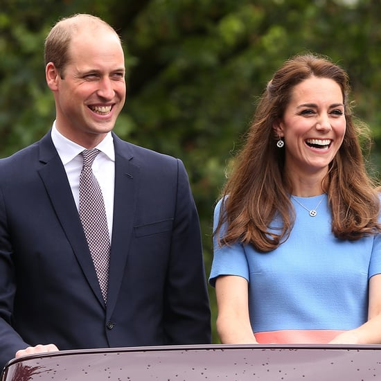 Kate Middleton and Prince William at the Patron's Lunch 2016