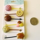 Bobby pins that will add a little funk to any hairstyle. Pan Dulce Bobby Pins ($12)