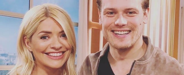 Sam Heughan on This Morning