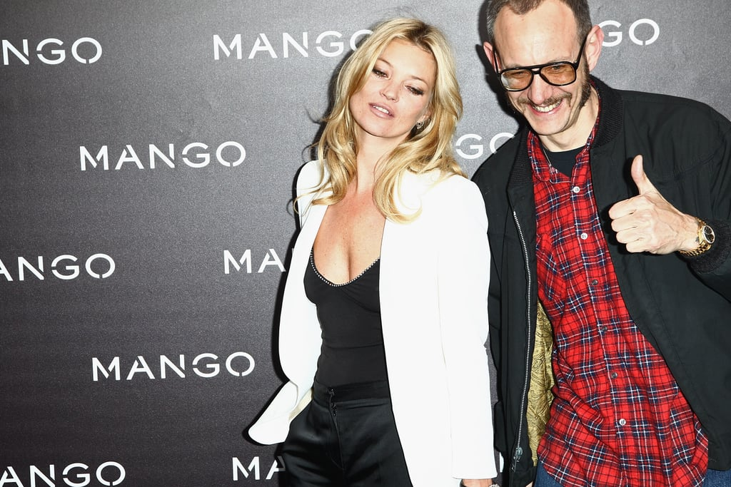 Terry Has Worked With Kate Moss