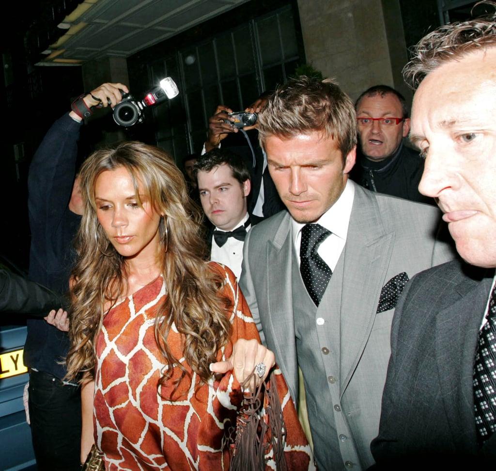Victoria Beckham's Roberto Cavalli Minidress