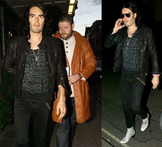 Pictures of Russell Brand After Hackney Empire Gig Talking About My Booky Wook 2 With Jonathan Ross, Morrissey, Talks About Katy