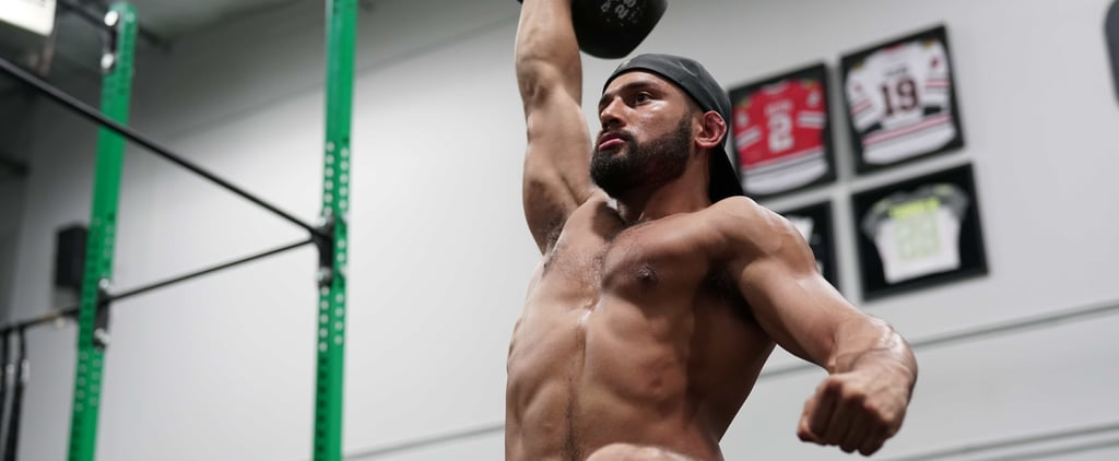 This Sexy, Shirtless Trainer Will Convince You to Pick Up a Kettlebell, Stat