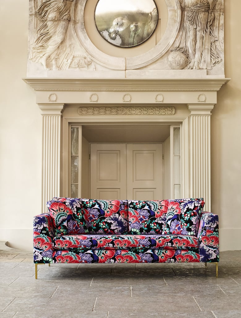 Liberty For Anthropologie Feather Bloom Edlyn Sofa