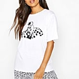 Disney License Cruella De Vil PJ Short Set